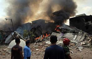 Indonezja: rozbił się samolot