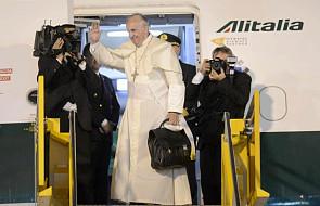 Papież opuścił Paragwaj i wyruszył do Rzymu