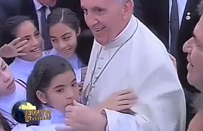 Najbardziej wzruszająca scena z papieskiej pielgrzymki