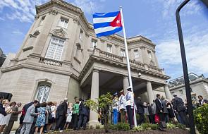Po 54 latach kubańska flaga znów zawisła w USA