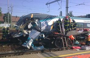 Zderzenie ciężarówki z polskim kierowcą i Pendolino