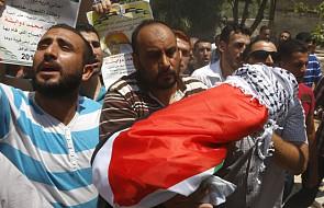 """""""Śmierci palestyńskiego dziecka winny izraelski rząd"""""""