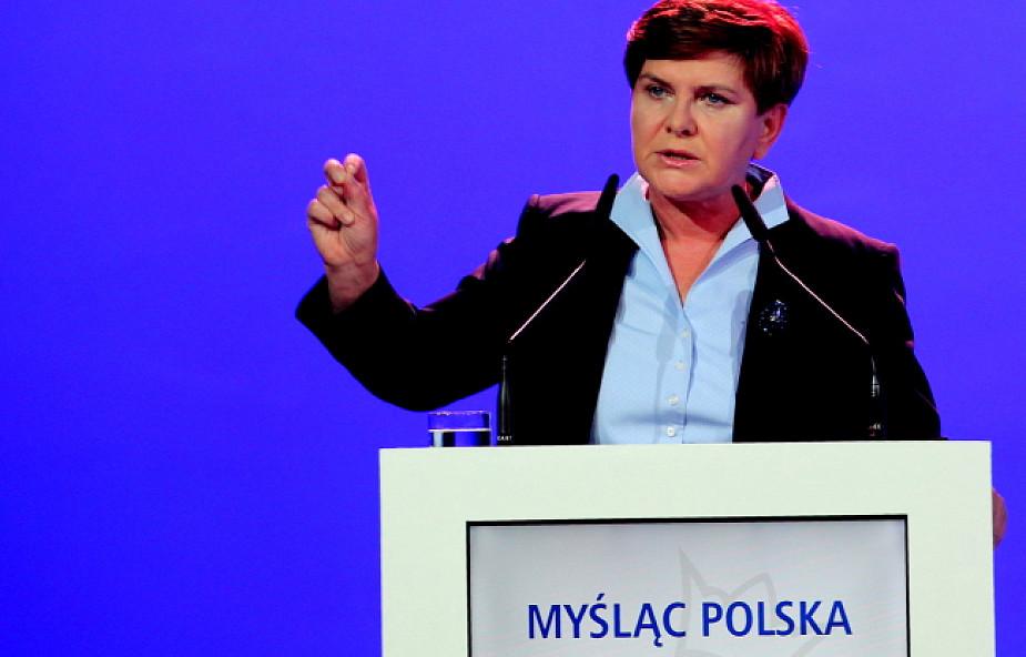 Szydło: Polska potrzebuje polskiego przemysłu i polskiej waluty