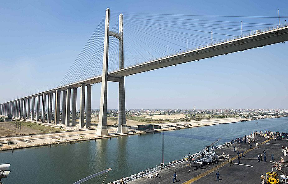 Próbowali wysadzić Kanał Sueski