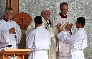 Apel Franciszka podczas Mszy św. w Boliwii
