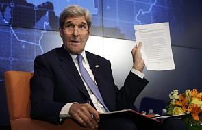 Kerry zaniepokojony atakami na Ukrainie