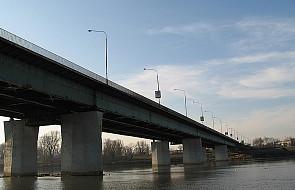 Pożar na remontowanym Moście Łazienkowskim