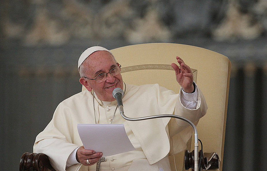 Franciszek: wiara w Jezusa sensem naszego życia