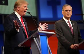 USA: Bush traci w sondażach, Trump zyskuje