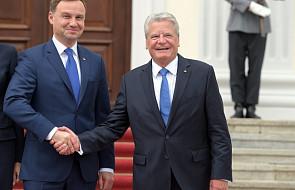 Gauck: podziwiam determinację Polaków