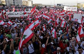 Liban: wielotysięczny protest antyrządowy