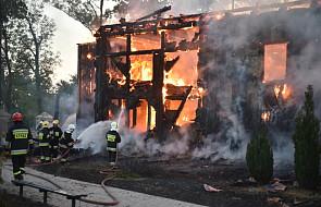 Spłonął zabytkowy kościół w Mileszkach