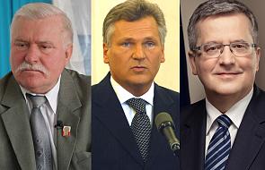 Wałęsa, Kwaśniewski i Komorowski o A. Dudzie