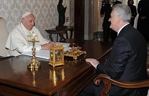 Papież przyjął prezydenta Serbii