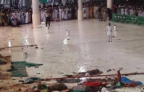 Katastrofa budowlana w Wielkim Meczecie w Mekce