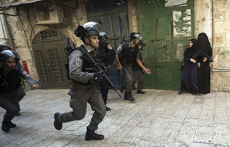 Zamieszki na Wzgórzu Świątynnym w Jerozolimie