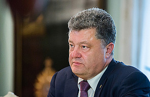 Prezydent Ukrainy apeluje o dostawy broni