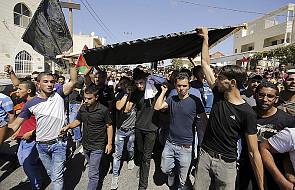 Palestyna: ostrzeżenie przed kolejną intifadą