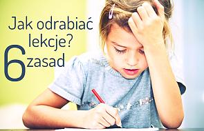 Problem z odrabianiem lekcji? To pomoże dzieciom