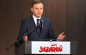 """A. Duda o nowej odsłonie """"Solidarności"""" i referendum"""