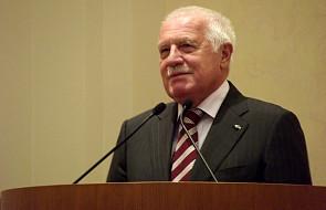 Antyimigracyjnąpetycję V. Klausa podpisało 20 tys. osób