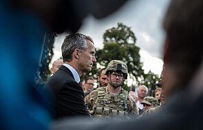 Szef NATO: rozejm na Ukrainie jest przestrzegany