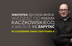 Ksiądz Kaczkowski odpowiada na najtrudniejsze pytania