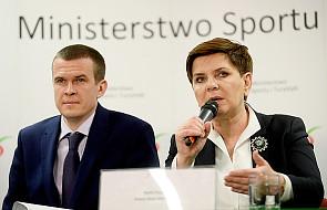 Szydło: nie ma sukcesów w sporcie bez inwestycji