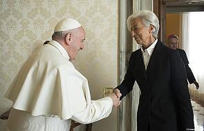 Papież przyjął szefową Międzynarodowego Funduszu Walutowego