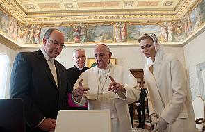 Franciszek przyjął parę książęcą z Monako