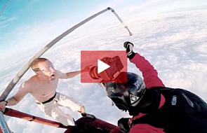 Szalony skok BEZ spadochronu z 4000 metrów [WIDEO]