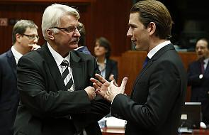 Waszczykowski zaniepokojony słowami komisarzy UE