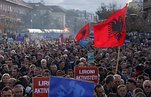 Kosowo: wielka antyrządowa demonstracja