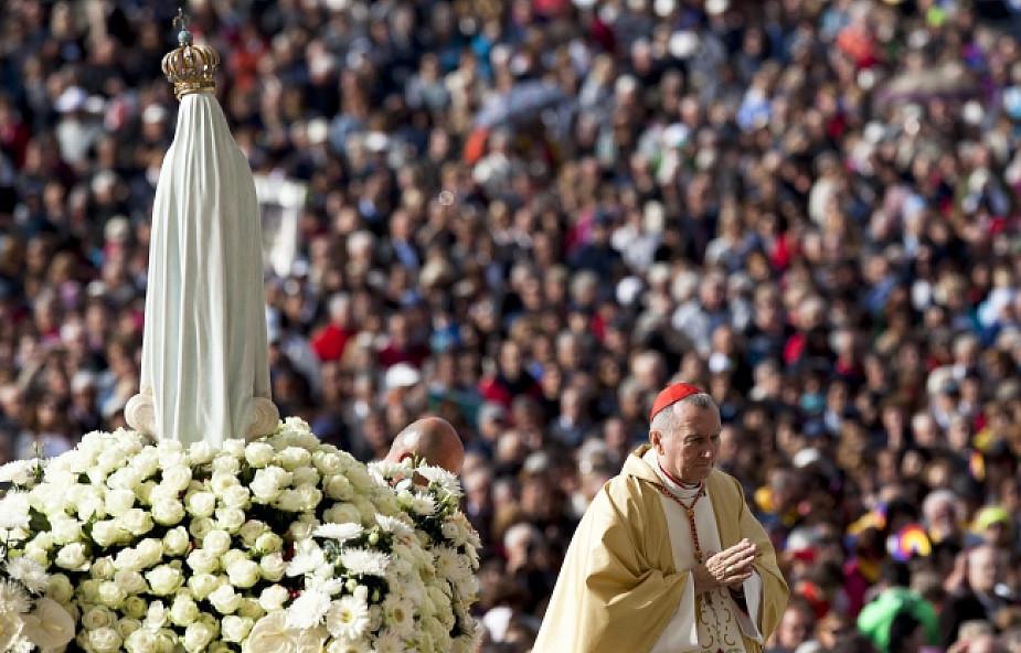 Kardynał Parolin w Fatimie przygotowuje pielgrzymkę papieża