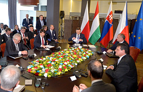Prezydenci państw V4 o bezpieczeństwie rynku gazu