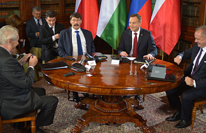 Prezydenci V4 przeciwni budowie Nord Stream 2