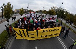 W Warszawie protest przeciw układom CETA i TTIP