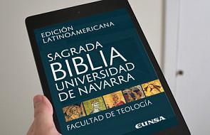 Hiszpanie wydali Biblię w formie elektronicznej