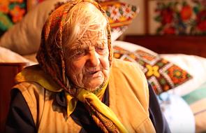 96-letnia Polka z Kresów śpiewa Rotę [WIDEO]