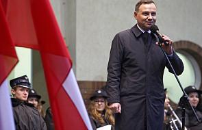 """Duda: """"Dobra zmiana"""" ma podnieść poziom życia Polaków"""