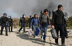 """Francja: w """"dżungli"""" w Calais nie ma już migrantów"""