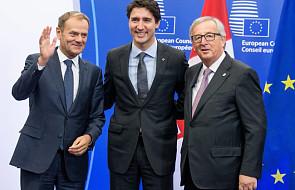 Rozpoczął się szczyt UE-Kanada ws. CETA