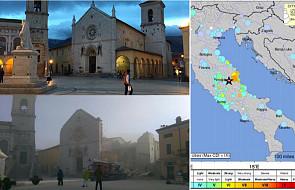 Wstrząsy we Włoszech: katedra i bazylika św. Benedykta w Nursji zniszczone
