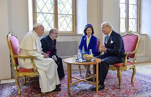 Papież spotkał się ze szwedzką rodziną królewską
