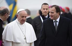 Papież Franciszek przybył do Szwecji