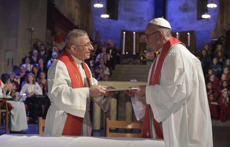 Historyczne nabożeństwo ekumeniczne z udziałem Papieża