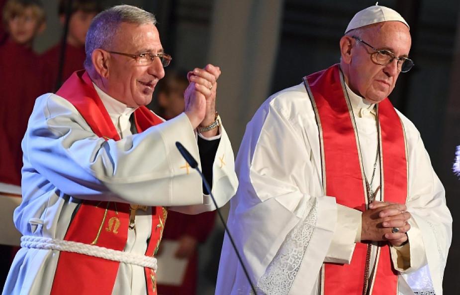 Papież w Lund: nie możemy pogodzić się z podziałem