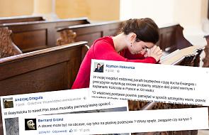 Instrukcja na stronie parafii wywołała burzę. Tak reaguje na nią Internet