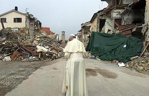 Włochy: papież odwiedził miasto zniszczone przez katastrofę