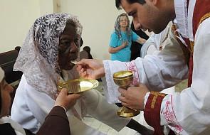 Przyjęła Pierwszą Komunię w wieku 101 lat